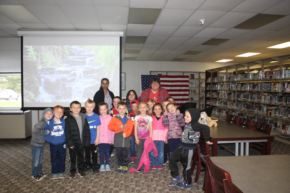 Miss Crockett's Class Visits the MA Library