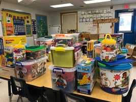 Bailey Grant provides STEM supplies