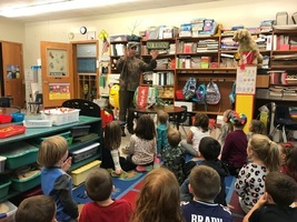 Kindergarten Class Learns about Trees