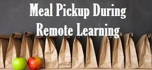 Meal Pickup During Remote Learning!