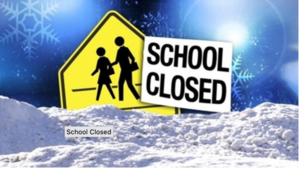 School Closed December 3