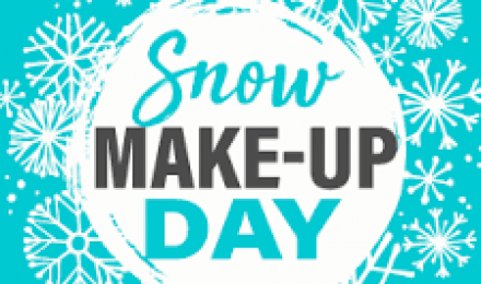 March 20, 2020 Snow Day Make-Up Day