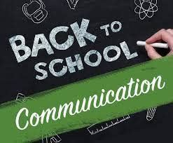 Return to School Communication